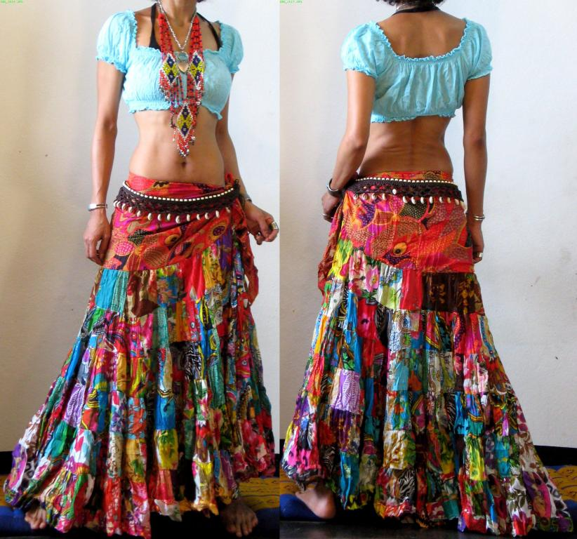 the gallery for gt hippie maxi skirt
