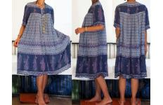 ORIGINAL VINTAGE HIPPIE  GYPSY BOHO DRESS/JUMPSUIT Image