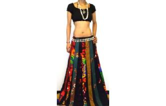2bc72f68c This skirt is made in Thailand, it is brand new, made by the womens in  small village at north of thailand. It is a funky bohemian ethnic hippy  long paneled ...