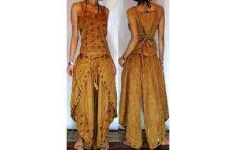 GYPSY BOHO HAREM BELLY DANC PANTS TROUSERS TOP H19 Image