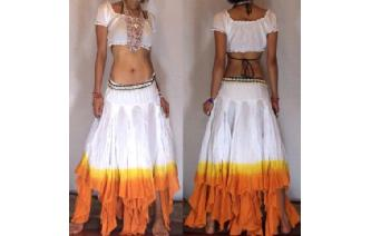 "GYPSY HIPPY BOHO PIXIES 500"" FULL HIPPIE SKIRT F19 Image"