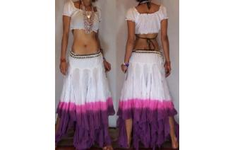 "GYPSY HIPPY BOHO PIXIES 500"" FULL HIPPIE SKIRT F22 Image"