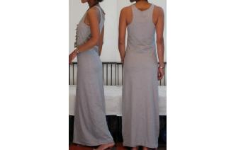 NEW STRETCHY SPORTY MAXI MAXI DRESS C Image