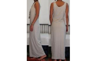 NEW STRETCHY SPORTY MAXI MAXI DRESS H Image