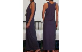 NEW STRETCHY SPORTY MAXI MAXI DRESS Q Image